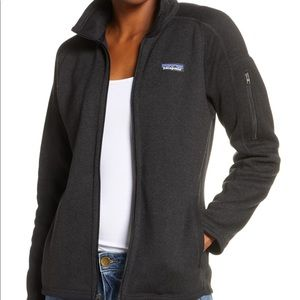 Patagonia Women's Black Better Sweater Zip Jacket